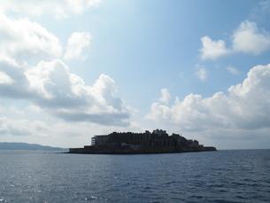 軍艦島の写真素材 [FYI00428177]