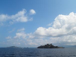 軍艦島の写真素材 [FYI00428178]
