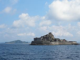 軍艦島の写真素材 [FYI00428187]