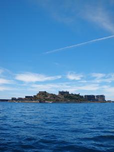 軍艦島の写真素材 [FYI00428192]