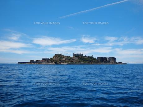 軍艦島の写真素材 [FYI00428201]