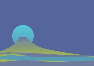 富士山の背景テクスチャの写真素材 [FYI00428359]