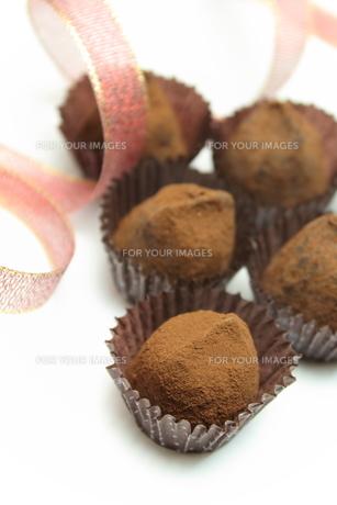 チョコレートトリュフの素材 [FYI00428681]