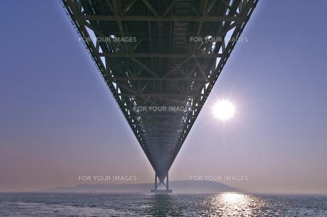 明石海峡大橋の写真素材 [FYI00428785]