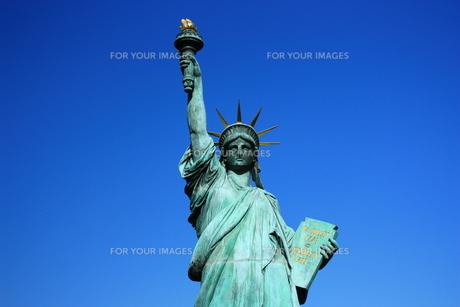 お台場自由の女神の写真素材 [FYI00428898]