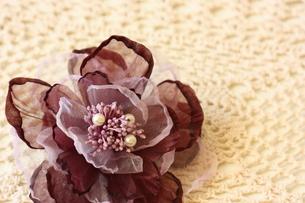 花のコサージュの写真素材 [FYI00428908]