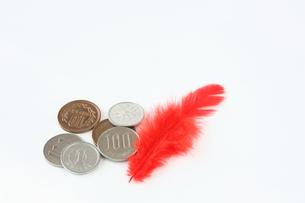 赤い羽根募金の写真素材 [FYI00428984]