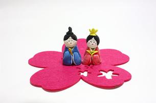 手作りひな人形の写真素材 [FYI00429010]