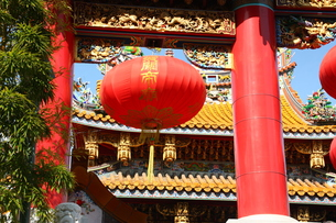 横浜中華街関帝廟の写真素材 [FYI00429071]