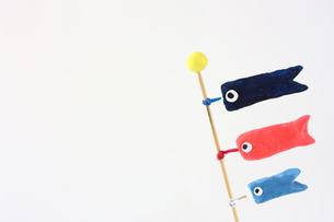 紙粘土の手作り鯉のぼりの写真素材 [FYI00429100]