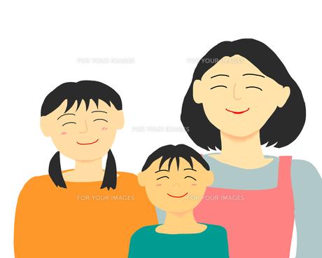 笑顔の母子の写真素材 [FYI00429188]