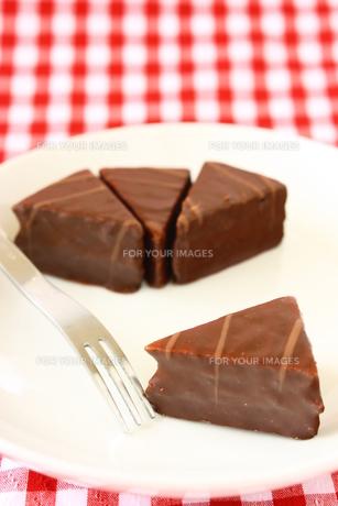 チョコレートケーキの写真素材 [FYI00429200]