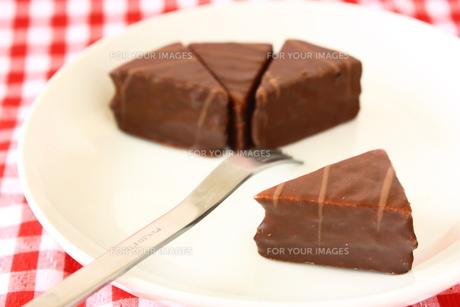 チョコレートケーキの写真素材 [FYI00429201]