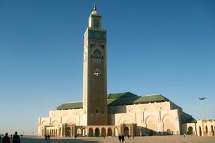 ハッサンⅡ世モスクの写真素材 [FYI00429318]