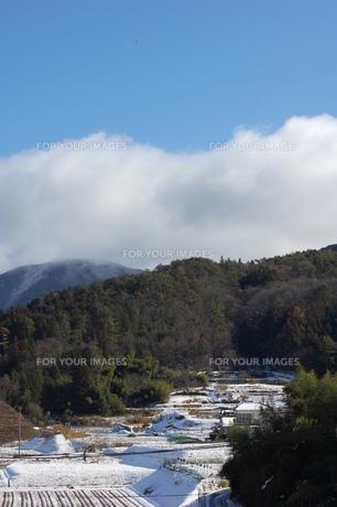 冬の山里の素材 [FYI00429406]