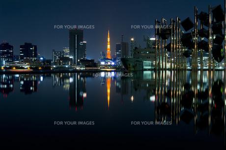 東京タワーライトアップの写真素材 [FYI00429415]
