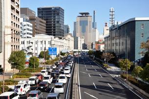 神戸 国道 2号線の写真素材 [FYI00429680]