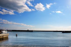 垂水 漁港の写真素材 [FYI00429682]