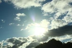 太陽のかくれんぼの写真素材 [FYI00430005]