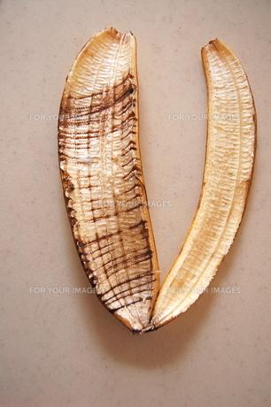 バナナの皮の写真素材 [FYI00430215]