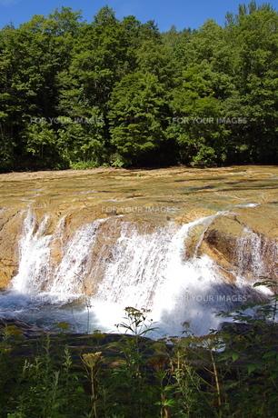 北海道のナイアガラの滝の写真素材 [FYI00430364]