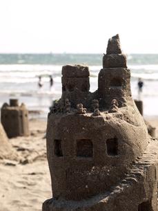 砂上の楼閣の写真素材 [FYI00430517]