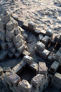 砂の城の写真素材 [FYI00430601]