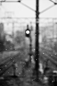 雪の日の写真素材 [FYI00430622]