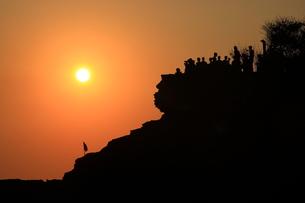 落日の写真素材 [FYI00430685]