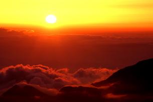 落日の写真素材 [FYI00430728]