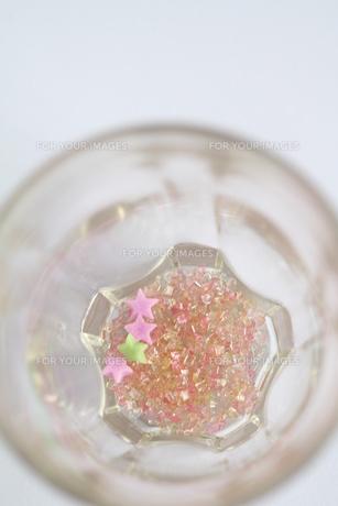 砂糖の結晶(縦の写真素材 [FYI00432600]