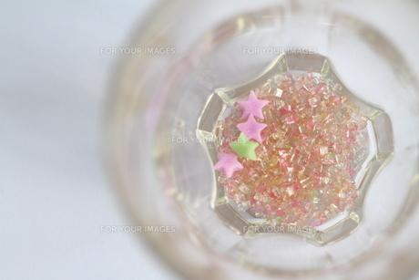 砂糖の結晶(横の写真素材 [FYI00432601]