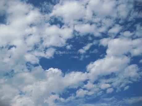 多摩の秋空の写真素材 [FYI00432633]