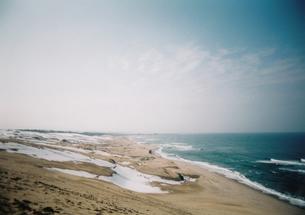 冬の砂丘の写真素材 [FYI00432643]