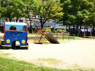 公園ジオラマ風の写真素材 [FYI00432710]