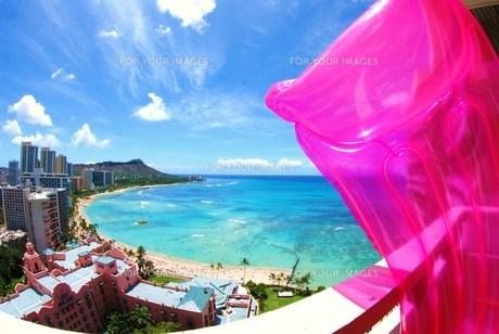 ハワイの景色の写真素材 [FYI00432733]