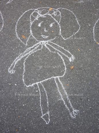 5歳児の落書きの素材 [FYI00432794]
