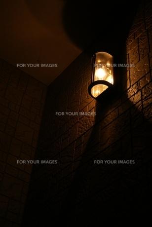 玄関灯の写真素材 [FYI00432857]