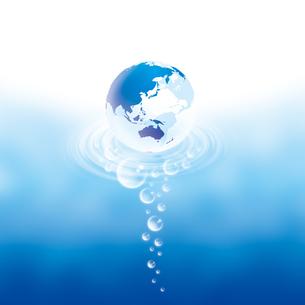 地球のバックグラウンドイメージの写真素材 [FYI00433043]