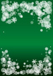 snowimage greenの素材 [FYI00433119]