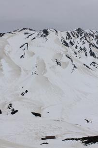 立山の岩肌の写真素材 [FYI00433216]