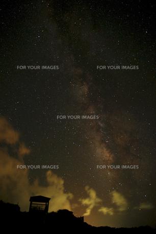 天の川の写真素材 [FYI00434526]