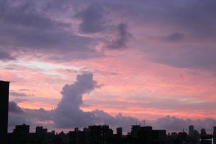 札幌で見る夕景の素材 [FYI00435311]
