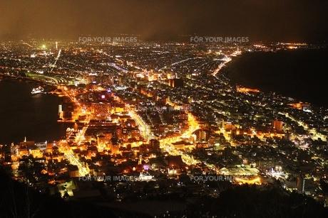 函館の夜景の素材 [FYI00435351]