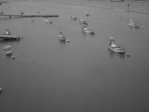 筑後川河口の漁船の素材 [FYI00435461]