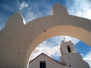 チリのサン・ペドロ教会の写真素材 [FYI00435475]