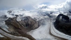 ツェルマットのゴルナー氷河の写真素材 [FYI00435481]