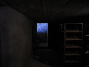 地下のワインセラーの写真素材 [FYI00435487]