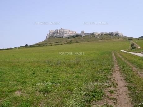 スロバキアのレヴォチャにある世界遺産スピシュ城の素材 [FYI00435526]