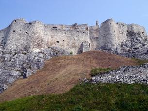 スロバキアのレヴォチャにある世界遺産スピシュ城の素材 [FYI00435547]